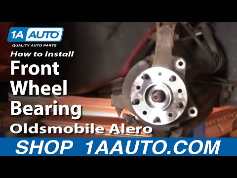 How to Replace Wheel Bearing & Hub Assembly 99-04 Oldsmobile Alero