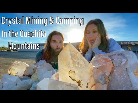 Crystal Mining & Camping In The Ouachita National Forest