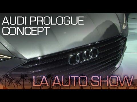 Audi Prologue Showcases 100% New Design Language - LA Auto Show 2014