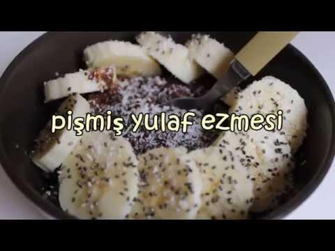 Lezzetli Yulaf Ezmesi (Pişmiş)   Bi'mutfak #8