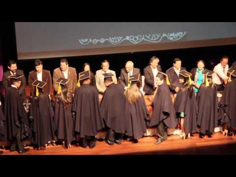 Graduación del programa de formación en Cooperativismo, Ciudadanía y Liderazgo promoción 2016