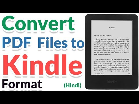Kindle format to pdf converter