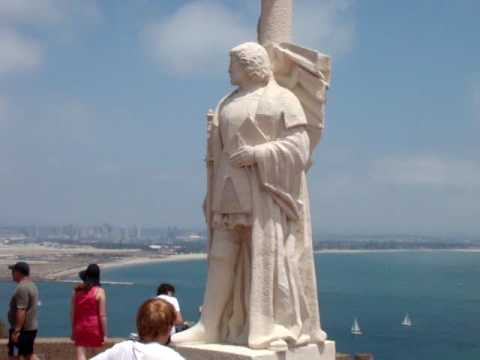 San Diego Scenic Attractions - Cabrillo National Monument #2 - Statue of Juan Cabrillo