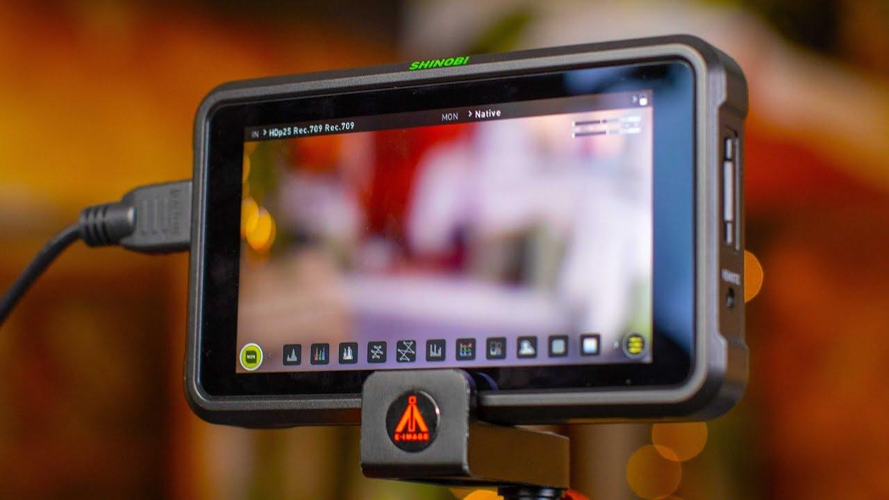 Atomos Shinobi 4K HDR Monitor First Impressions   4K Shooters