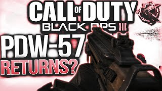 pdw 57 returns in black ops 3 old weapons possibly returning in dlc bo3 pdw 57 returns