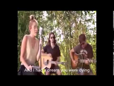 """Miley Cyrus- I Had A Dream """"The Twinkle Song"""" (Lyrics - Audio Live)"""