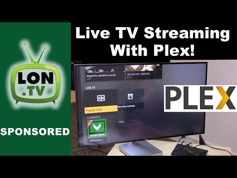 Live TV with Plex ! : Watch and Stream Live Television with the Plex DVR !