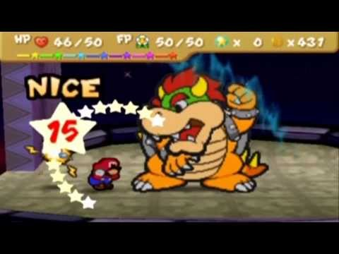 [18: FINALE] Paper Mario Difficulty Mod: Insane Mode Bosses - Bowser (Final Boss)