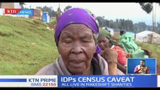 Section of Nyandarua IDPs threaten to boycott 2019 Census exercise over 'neglection by gov't'