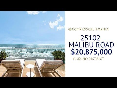 A Rare Find! 25102 MALIBU ROAD $20,875,000