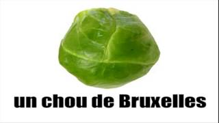 #Learn French #Vocabulary #Fruits and vegetables #4 minutes