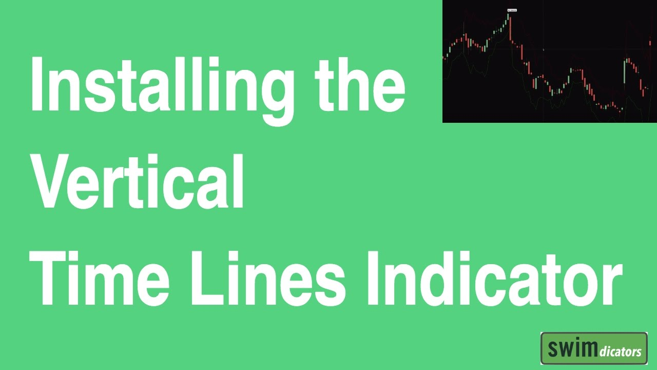 How to Install the Vertical Time Lines ThinkScript Indicator for ThinkOrSwim