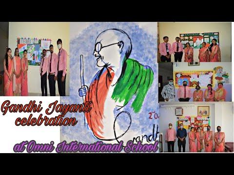 Gandhi Jayanti celebration | Omni International School | vlog - 5