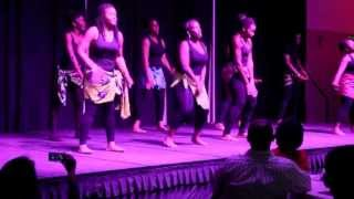"African Contemporary Dance ""flavour-shake"""