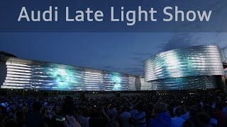 Audi Late Light Show - Projection Mapping on Audi Forum Ingolstadt 4K(, 2016-05-31T20:32:57.000Z)