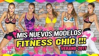 MODA FITNESS || NUEVOS CONJUNTOS FITNESS CHIC || SE LA FITNESS GIRL MAS GUAPA Y SEXY