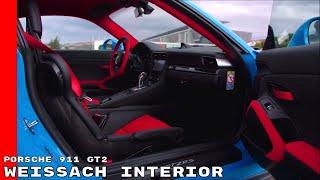 2018 Porsche 911 GT2 Weissach Interior Options