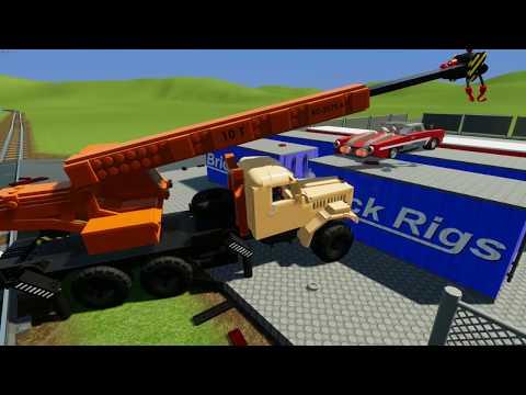 Brick Rigs Car And Truck Crash Videos
