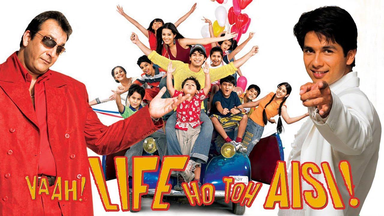 Download Vaah Life Ho Toh Aisi Full Movie   Shahid Kapoor   Sanjay Dutt   Hindi Comedy Movie   Hindi HD Movie