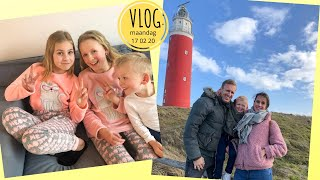 Voorjaarsvakantie -Vriendinnetje logeren - Kidsclub - Vuurtoren Texel (17-02-2020 daanliesenkids)