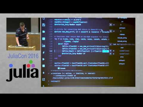 JuliaCon 2016 | Juno - A Julia IDE and Debugging with Gallium | Mike Innes
