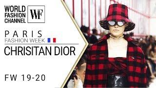 Cover images Сhrisitan Dior FW 19-20 Paris fashion week