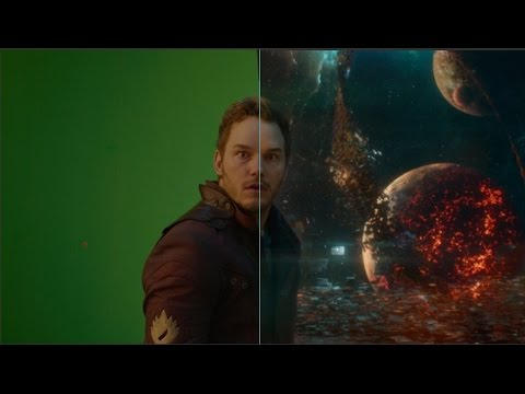 'Guardians of the Galaxy' :VFX Breakdown Showreel