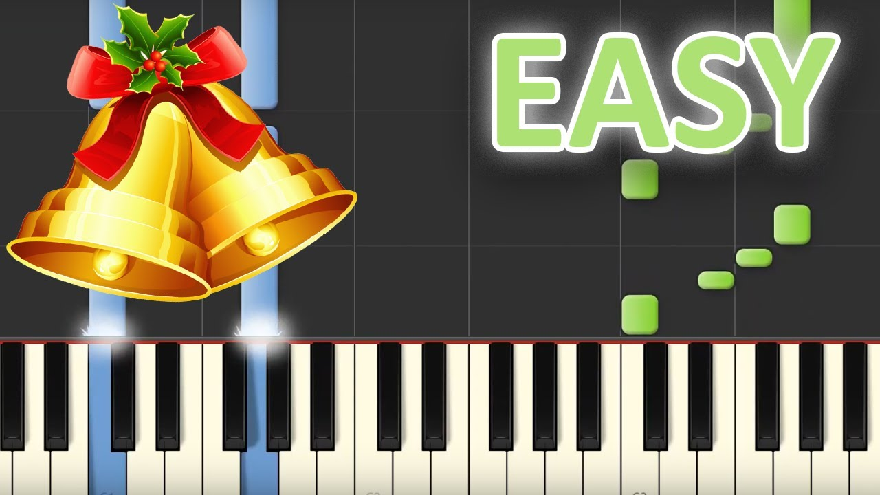 how to play jingle bells piano easy