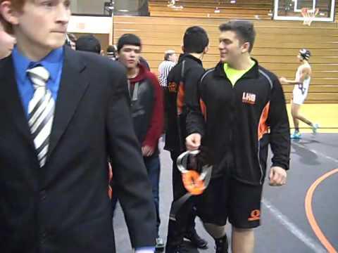 Ludington High school Wrestling meet 1/13/16