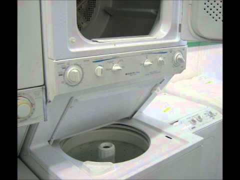 FRIGIDAIRE Crown Laundry Center  Stacked Washer  Dryer
