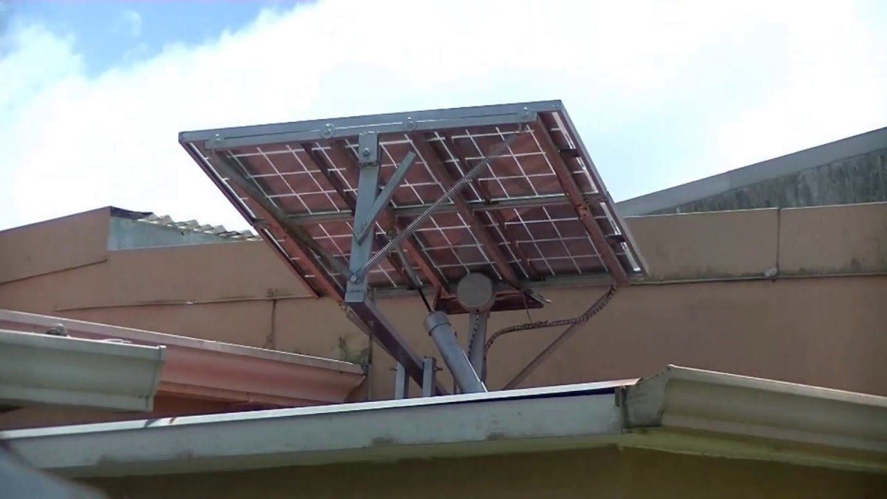 Hybrid Arduino Controlled Solar Tracker The Simplest