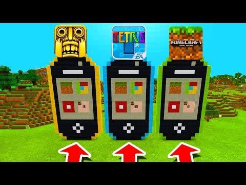 Minecraft PE : DO NOT CHOOSE THE WRONG IPHONE! (Temple Run, Tetris & Minecraft) thumbnail