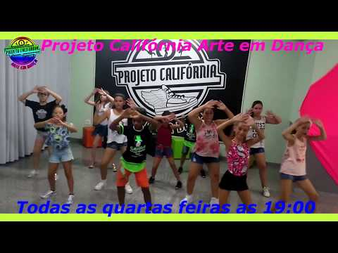 Rabiola - Mc Kevinho  Ritmos TEEN  Projeto Califórnia Arte em Dança