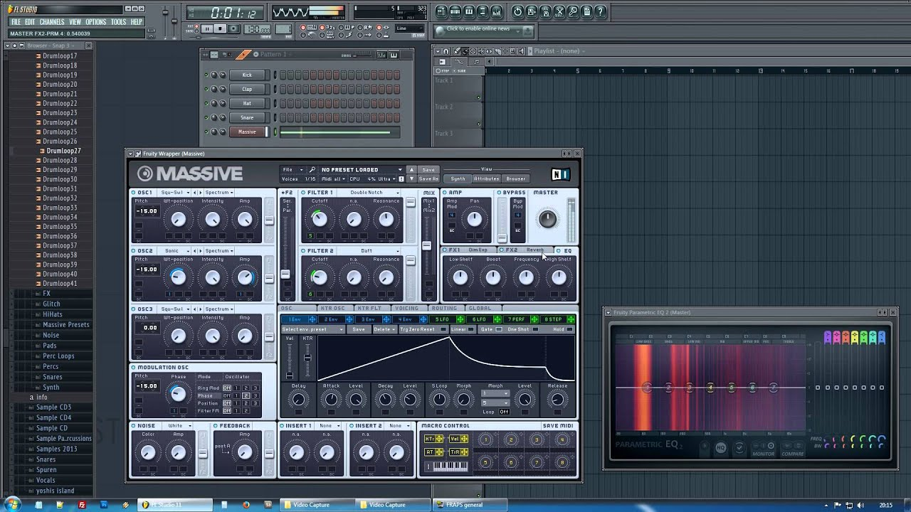 cymatics massive presets