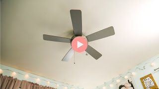 How to Install a Ceiling Fan in a Bedroom