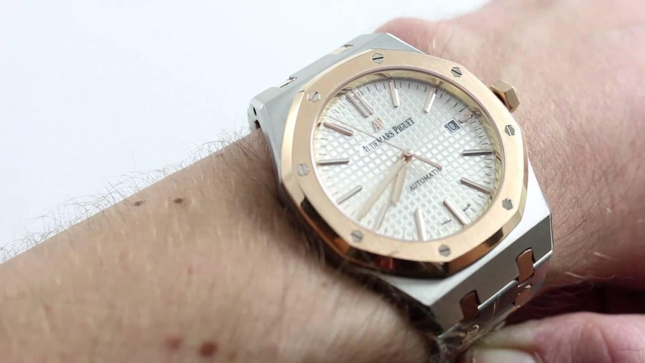4e1177996c43 Pre-Owned Audemars Piguet Royal Oak 15400SR Luxury Watch Review ...