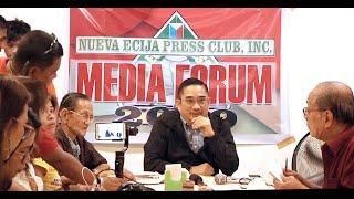 Nueva Ecija Press Club Inc., naglunsad ng media forum para sa midterm elections 2019