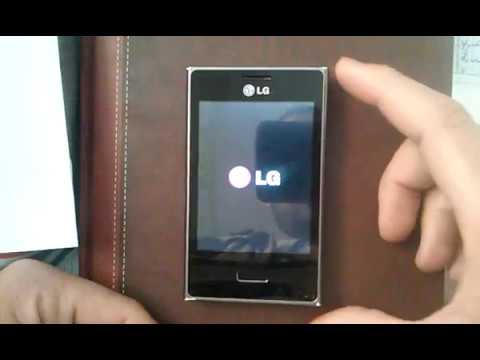 How to unlock pattern using hard reset - LG Optimus L3