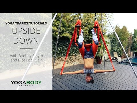 Yoga Trapeze / Yoga Swing Tutorial w/Briohny Smyth - Upside Down