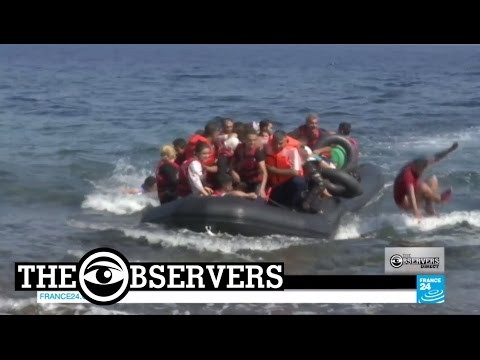 Migrants in Lesbos: volunteers stand alone against the humanitarian crisis