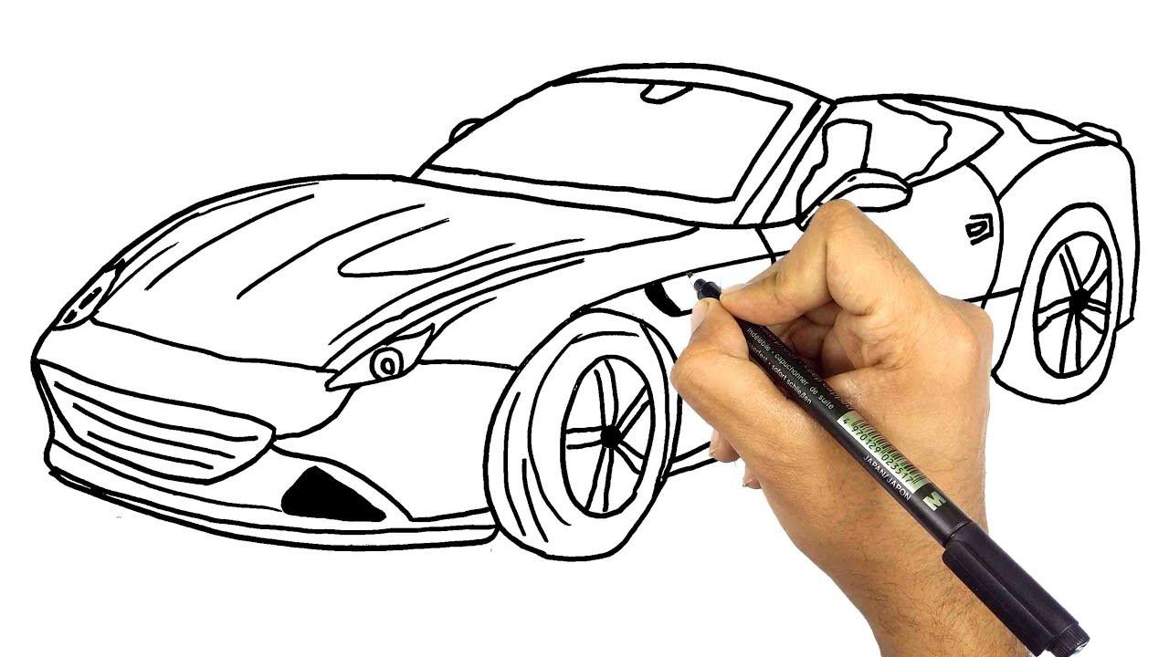 كيف ترسم سيارة خطوة بخطوة للمبتدئين تعليم الرسم Youtube