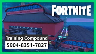 Training Compound in Fortnite Creative! Train your aim! CODE 5904-8351-7827 (update v8.20) TRAILER