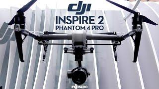 DJI Inspire 2 & Phantom 4 Pro — Control/Create Event [4K]