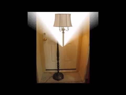 Vintage style floor lamps