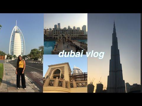 dubai vlog | emirates, burj khalifa, the dubai mall, jumeirah beach….