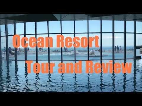 Ocean Resort AC Tour and Review