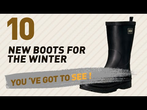 Helly Hansen Womens Boots Collection // New & Popular 2017