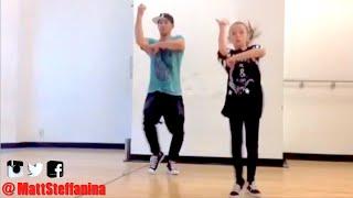 RUDE - Magic Dance | @MattSteffanina ft 11 year old Taylor Hatala