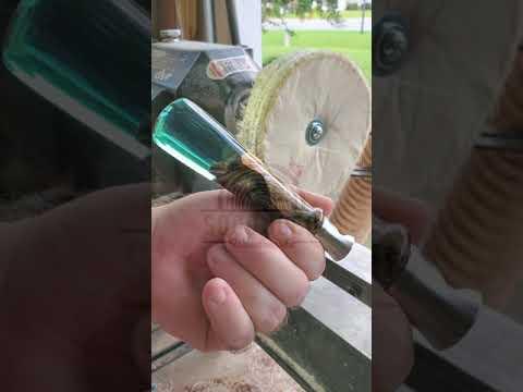 Burl and Resin Bottle Opener