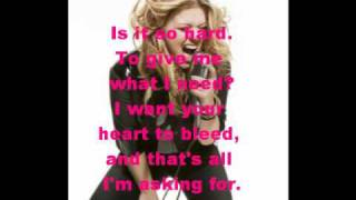Kelly Clarkson - Where Is Your Heart (LYRICS)